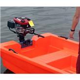 电动船舷外挂推进器充气皮划艇舟艇舷外挂机抢险救援冲锋舟外挂机
