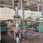 紧凑链批发 现货供应 高强度圆环链 焊接耐磨精密加工扁平紧凑链