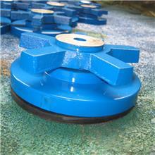 春天机床供应十字垫铁 机床调整垫铁S78-10防震长城圆形黄色 减震垫铁