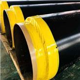 厂家现货供应 玻璃岩棉保温钢管 城市暖气直埋保温钢管 环氧粉末保温钢管 丘业管道价格实惠