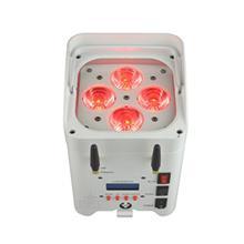 厂家直销 4颗18瓦 高亮度LED 六色六合一电池和无线筒灯