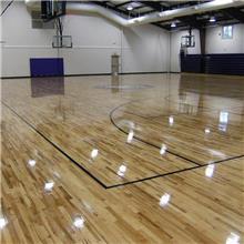 出售 瑜伽室木地板 篮球馆运动木地板 枫木运动木地板 价格合理
