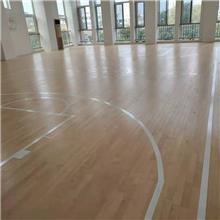 按需生产 训练馆运动木地板 舞台运动地板 瑜伽室木地板 价格合理