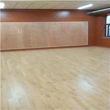 枫木运动木地板 瑜伽室木地板 网球馆木地板 可定制