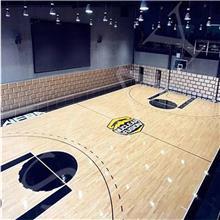 定做 运动木地板 学校篮球场地板 综合体育馆木地板 舞台剧院 健身房瑜伽馆上门安装