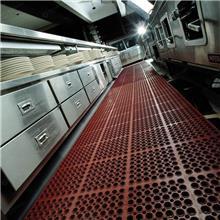 现货批发防滑疏水垫-镂空模块地垫-后厨地垫-车间地垫-厨房控油地垫