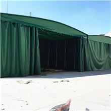 衢州常山电动移动推拉棚 室外仓储活动大蓬 户外移动推拉篷