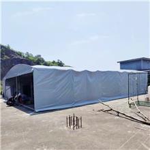 丽水青田活动折叠雨棚 电动轮式推拉蓬 大型移动推拉篷