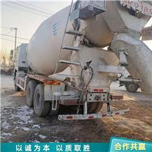 山东出售二手中国重汽搅拌罐车 二手搅拌运输车 工程水泥搅拌装载车