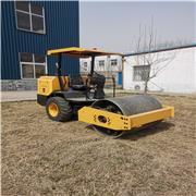 小型震动压路机厂家批发 回填压实机械3吨压土机 沥青压实手扶钢轮碾子
