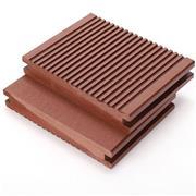 户外地板新型材料 世名 木塑pe地板报价 户外人造防腐地板