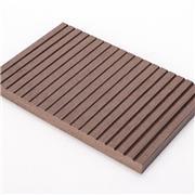 室外pvc地板 世名 户外花园地板 公园塑木地板