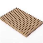 室外生态木地板价格 世名 防火塑木地板 室外地板