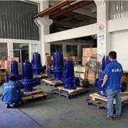 上海君泉 屏蔽泵 SPG立式循环泵 低嗓音屏蔽泵