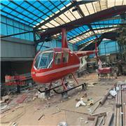 R44飞机模型 民用飞机模型 R22飞机模型