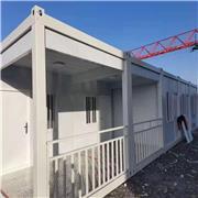 玻璃幕墙打包箱 打包箱房屋 活动板房 移动箱房 鲁恒供应安装 廊坊打包箱房 量大优惠