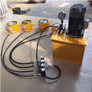 一拖八 顶力机械 PLC液压同步千斤顶  液压千斤顶 一拖二  一拖四