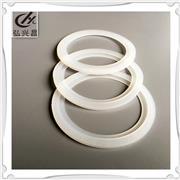 订做_来图来样开模加工各种型号_双层硅胶o型圈_白色硅橡胶密封圈_防水硅胶平垫_发货快