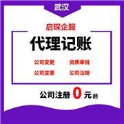 公司注册 武汉注册个独公司 合理节税 代理记账
