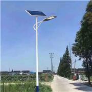 厂家直供太阳能路灯 海螺臂6米路灯 乡村路灯批发