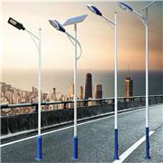 生产销售路灯杆 不锈钢灯杆厂家 单双臂太阳能路灯