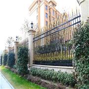 华龙别墅庭院铁艺围墙护栏 组装式喷塑锌钢隔离栅