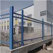 华龙生产批发锌钢喷塑围墙护栏 新农村小区别墅围栏