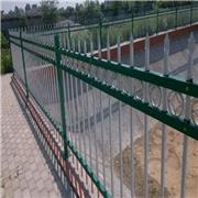 华龙学校栏杆 学校防护栏 学校铁艺护栏 校区锌钢护栏