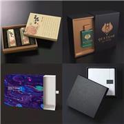 深圳宇硕精美礼品盒包装 厂家直销定制包装盒 化妆品金银卡翻盖盒 特种纸天地盒 异形盒