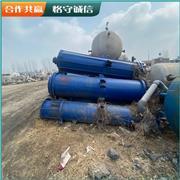 出售二手列管冷凝器 山东二手冷凝器价格二手30平方碳钢列管冷凝器 鲁勋