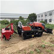 柴油田园管理机 多功能大葱培土机 履带式旋耕机生产厂家