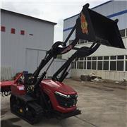 50马力旱地履带旋耕机大马力乘坐式多功能加装工程铲履带拖拉机厂家