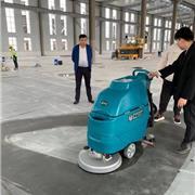 全自动电瓶式洗地机,常州本地洗地车,江苏快洁K3扫地机