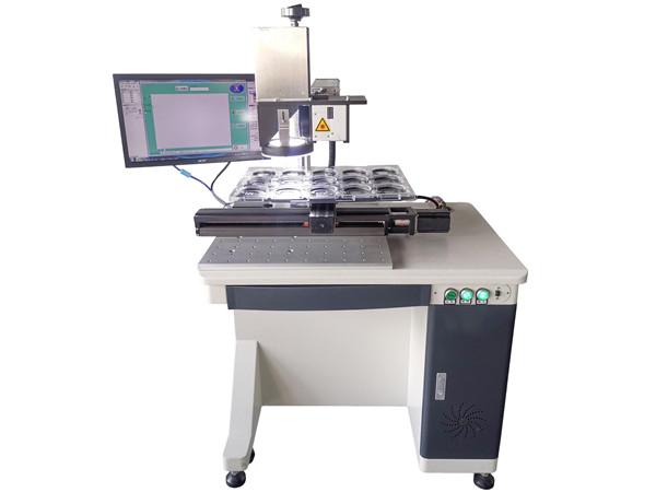 云浮金属雕刻机 激光视觉打标机厂家供应
