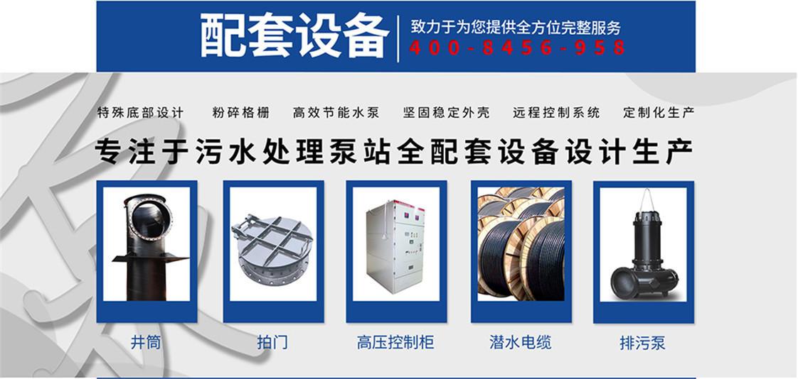 大口径潜水排污泵 天津大口径潜污泵_大流量潜水排污泵示例图3